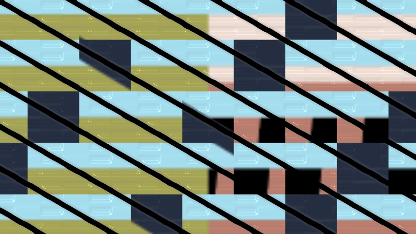 Abstract color geometric pattern, creative festive background decoration 4k video | Shutterstock HD Video #1054718237