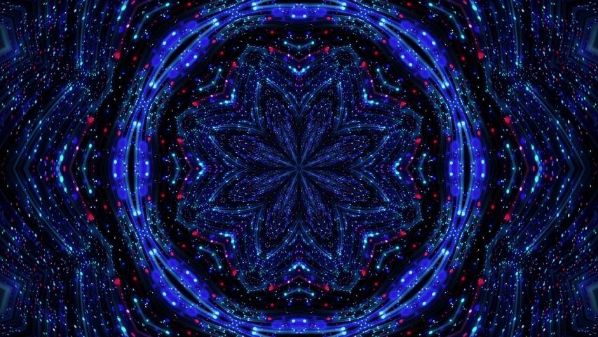 Abstract fractal flower, Abstract kaleidoscope background, Mandala ornament flower. | Shutterstock HD Video #1054721318