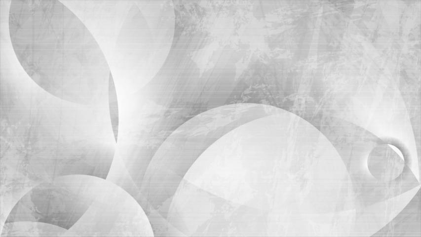 Geometric grey circles abstract hi-tech grunge motion backgroud. Video animation Ultra HD 4K 3840x2160 | Shutterstock HD Video #1054727216