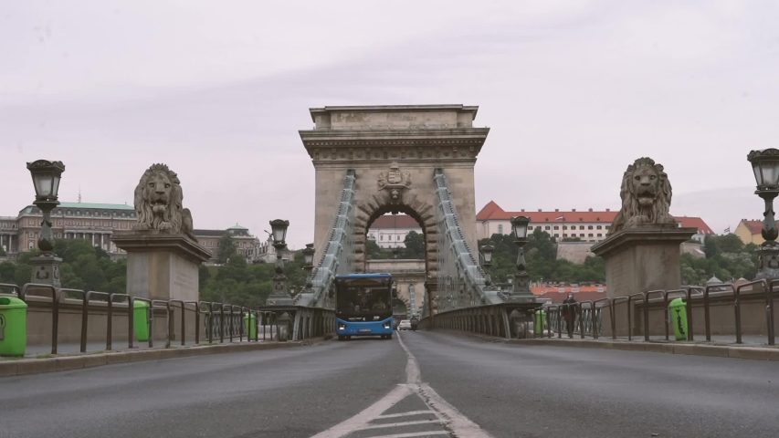 Budapest Chain Bridge timelapse, Budapest, Hungary, Time lapse | Shutterstock HD Video #1054736012