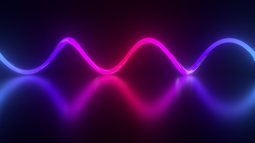 Gradient neon spiral background. Endless loop. | Shutterstock HD Video #1054736108