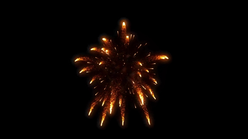 Fireworks motion graphics with night background Royalty-Free Stock Footage #1054807706