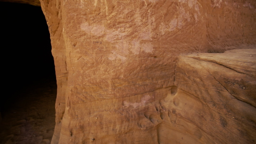 Madain Saleh is an ancient pre-Islamic archeological site in Saudi Arabia. It was the land of Thamud n 2008, UNESCO's World Heritage Committee agreed on Madain Saleh site to join the World Heritage