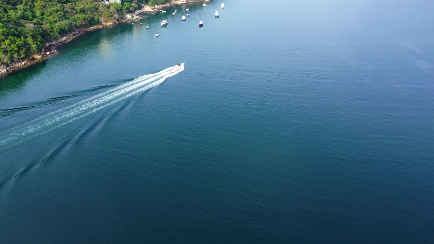 Sailing in the sea of Acapulco