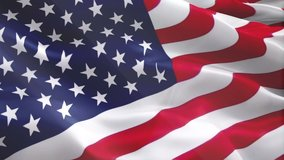 Video of American flag waving. United States of America waving video gradient background. American flag video download. USA flag for Independence Day, 4th of july US American Flag Waving 1080p Full HD