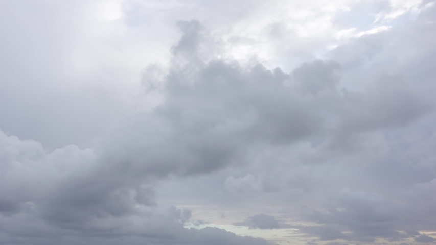 Cloud Time-Lapse. Sky with Morphing Clouds Moving Towards the Camera. . Summer Cloud Timelapse. 4k Sky Replacements.  | Shutterstock HD Video #1055107982