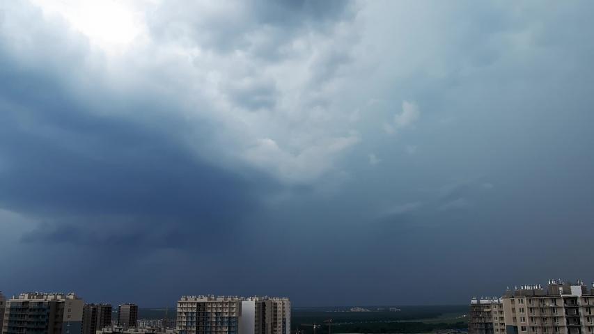 Set of real lightning bolts. Pack of lightning strikes.   Shutterstock HD Video #1055131601