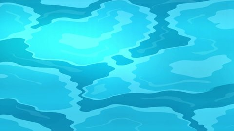 21+ Blue Anime Water Background Background