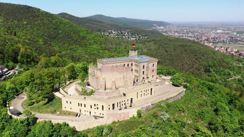 Hambach Castle, Hambach, Rhineland-Palatinate, Germany   Shutterstock HD Video #1055299091