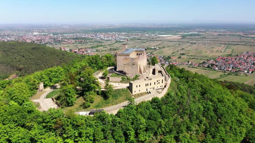 Hambach Castle, Hambach, Rhineland-Palatinate, Germany   Shutterstock HD Video #1055299103