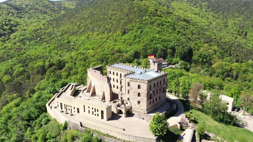 Hambach Castle, Hambach, Rhineland-Palatinate, Germany   Shutterstock HD Video #1055299106