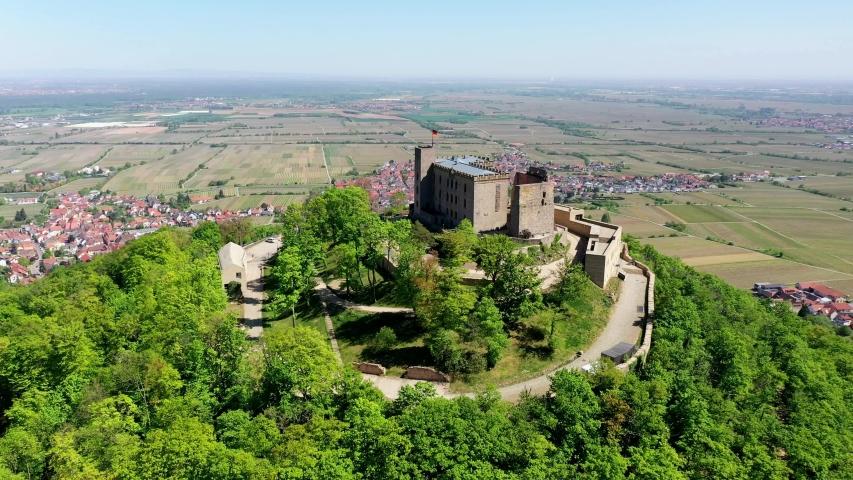 Hambach Castle, Hambach, Rhineland-Palatinate, Germany   Shutterstock HD Video #1055299118