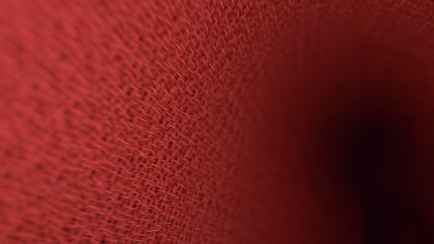 Folds of red cloth. view inside the folds. textile background, copy space. | Shutterstock HD Video #1055315483