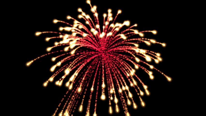 4K video clip of the fireworks   Shutterstock HD Video #1055359160