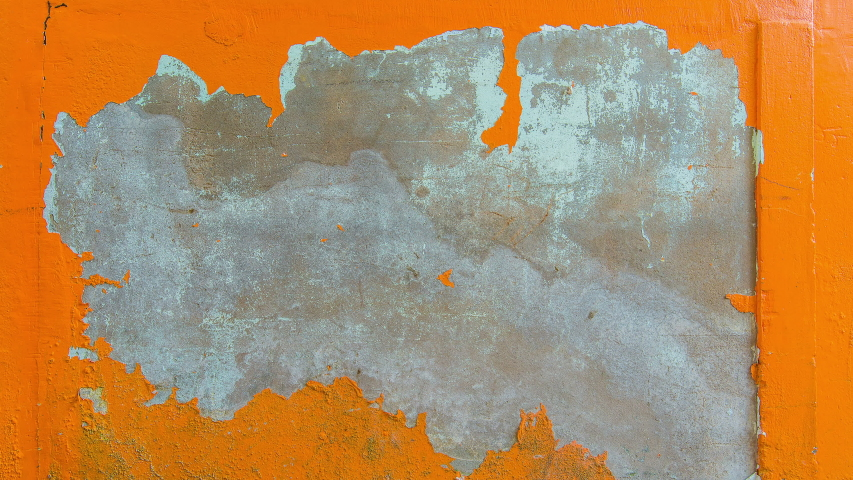 Abstract colorful cement wall background or texture. The camera zoom in   Shutterstock HD Video #1055359331
