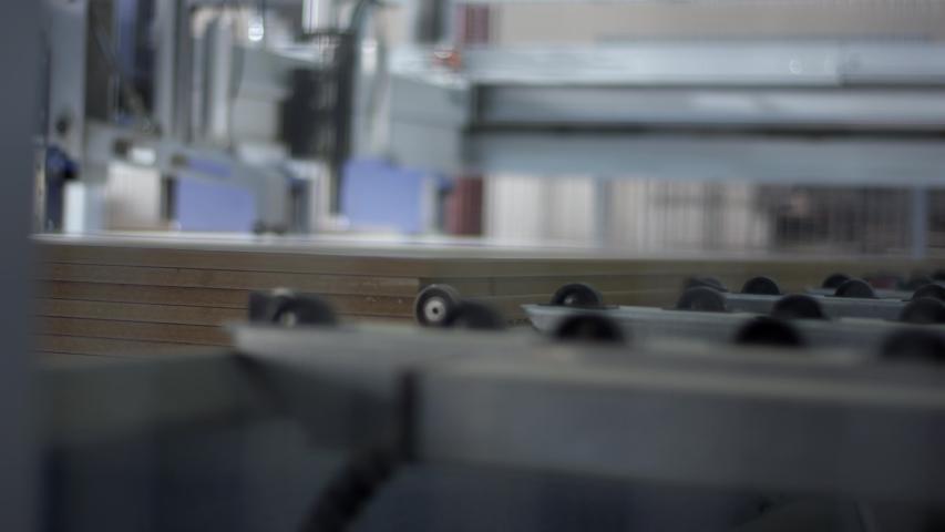 Furniture manufacturing. Furniture parts. Working process | Shutterstock HD Video #1055551157