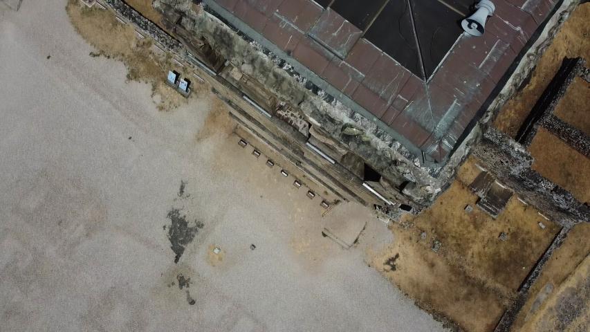 Drone Flight above Panama, Panama City: Ruins and high rises   Shutterstock HD Video #1055576780