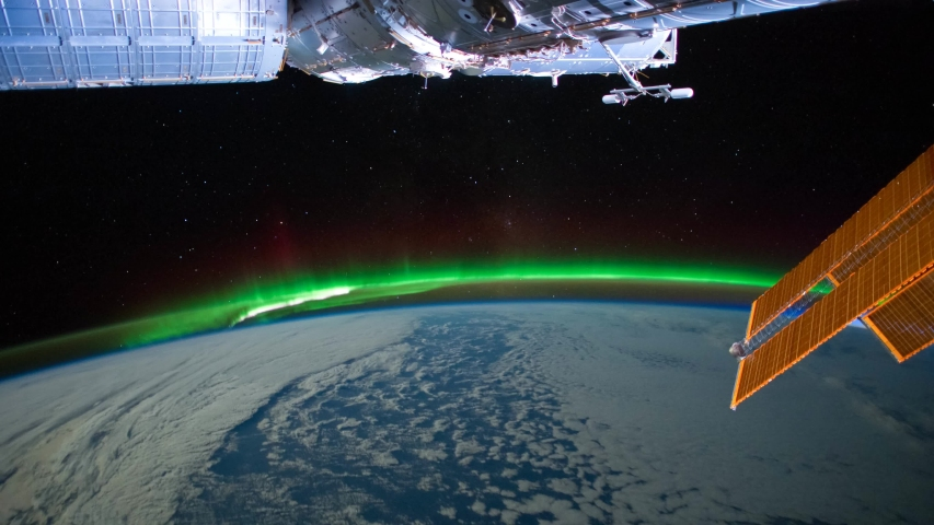 Time lapse of Aurora Australis over the Indian Ocean in 4K   Shutterstock HD Video #1055653733