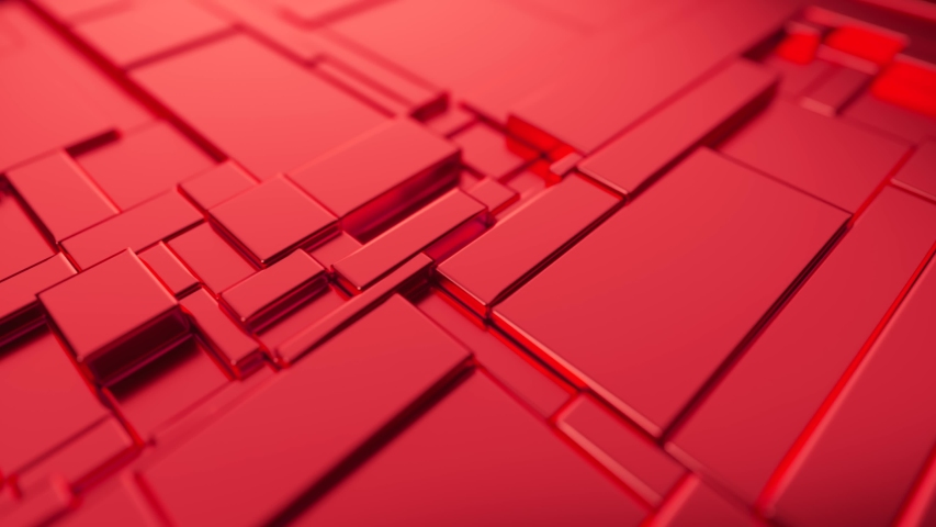 Abstract moving surface made of metal. Seamless loop 3d render | Shutterstock HD Video #1055700671