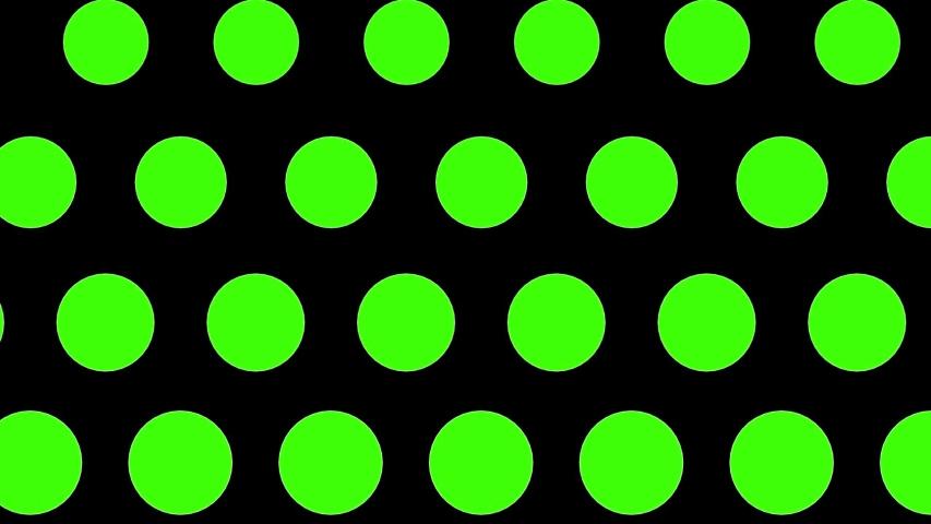 Green circles motion background seamless loop | Shutterstock HD Video #1055704274