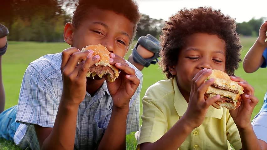 Three Black Boys are Having Stock Footage Video (100% Royalty-free)  10558352   Shutterstock