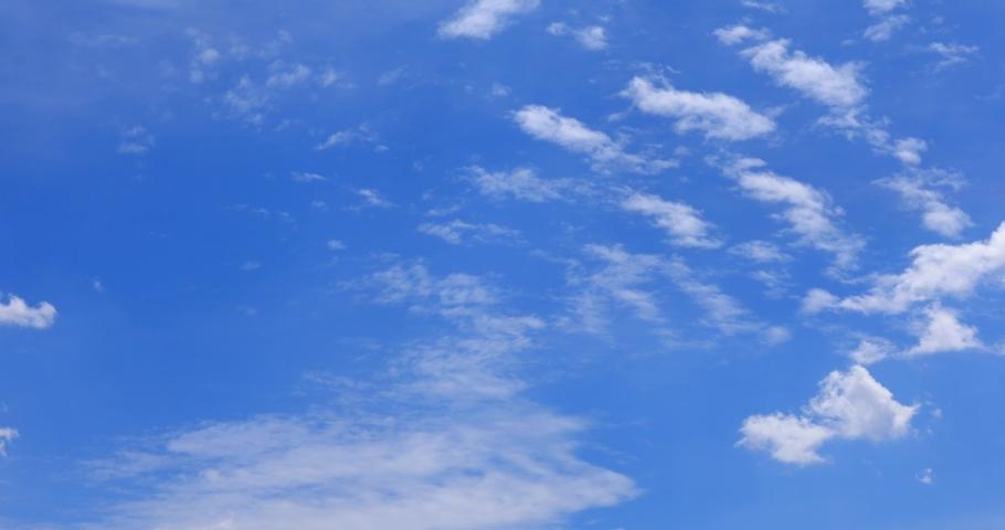 Blue Sky clean background beautiful cloud Blue sky #1055903999