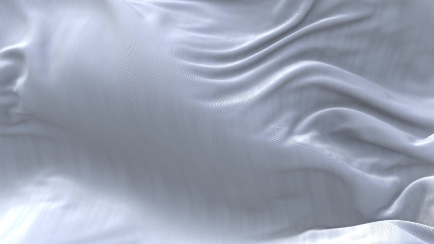 4k seamless Wave white satin fabric Background.Silk cloth fluttering in the wind.tenderness and airiness.3D digital animation of a waving cloth.  Royalty-Free Stock Footage #1055968769