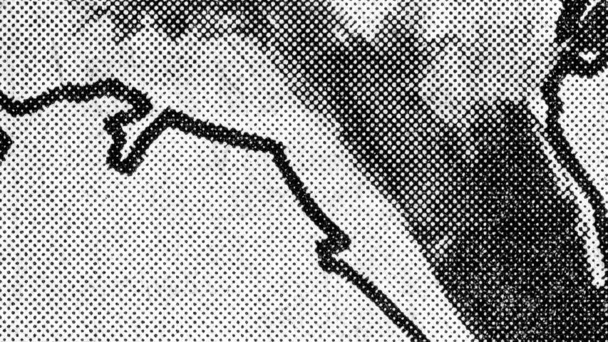 A gritty halftone texture created with high resolution scans of vintage newspapers. Royalty-Free Stock Footage #1055997107