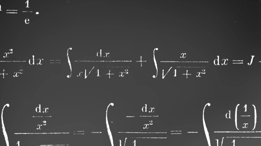 Math and Physics Stop Motion Background | Shutterstock HD Video #1055997137