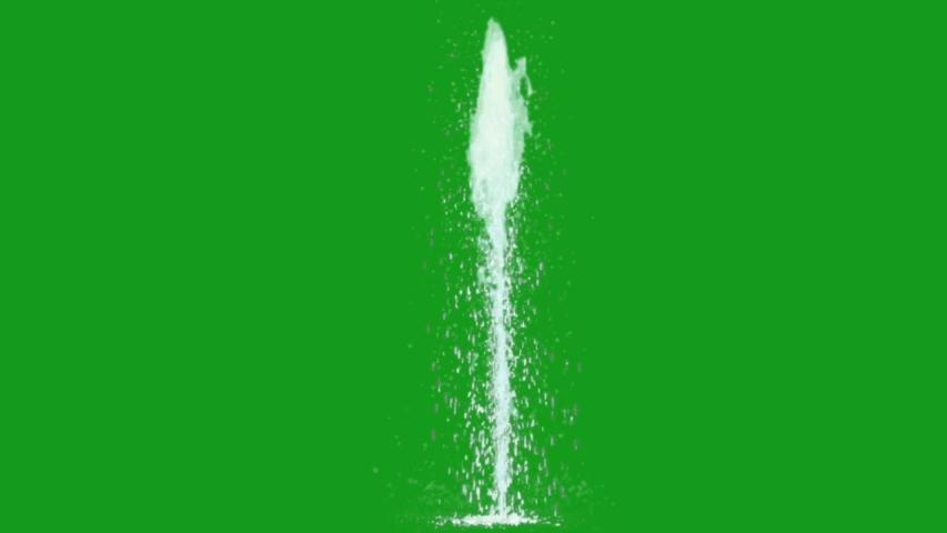 Water fountain green screen motion graphics | Shutterstock HD Video #1056109580