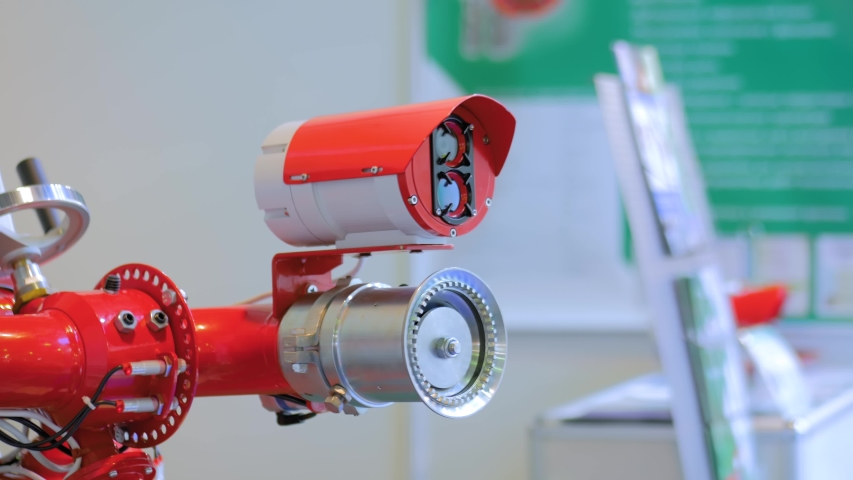 Automatic Fire Alarm Detection System Stock Footage Video (100%  Royalty-free) 1056125573   Shutterstock