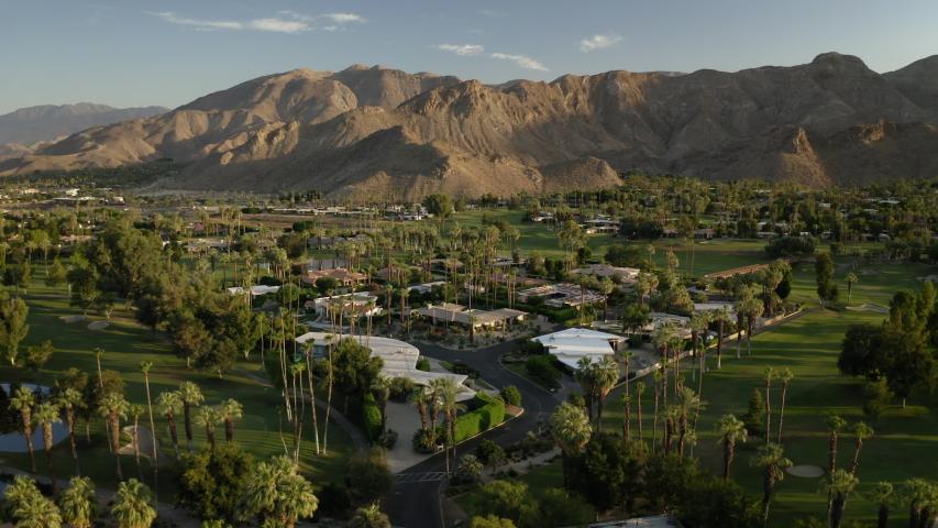 Drone Palm Springs 4K 30FPS | Shutterstock HD Video #1056249680