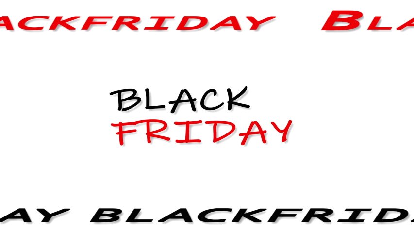Black friday glitch text animation on white background. | Shutterstock HD Video #1056257231