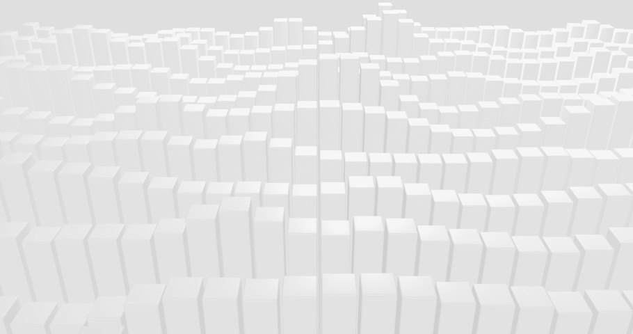 4k Light grey white seamless looped gradient abstract background.  Layout 3d dynamic business presentation cover. Chart trade concept. Corporate digital image. Investment rising growth. Graph success #1056337256