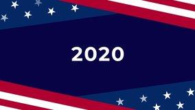 Animated Moving Usa Flag