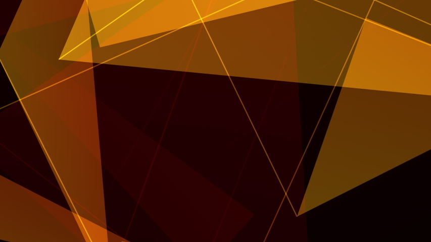 4K looping colorful footage in polygonal style. Abstract video clip with gradient CG polygonal surface. Geometric poly triangles loop motion background. 3D rendering flicker for designers.