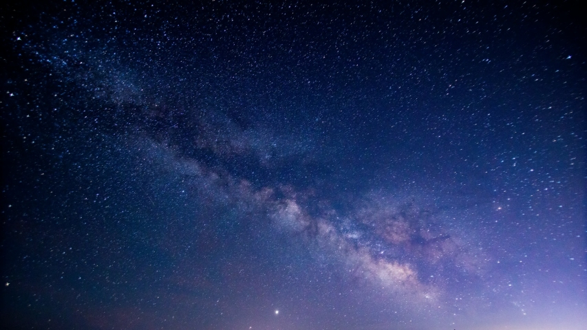Time-Lapse of Milky-way in Japan Royalty-Free Stock Footage #1056618047