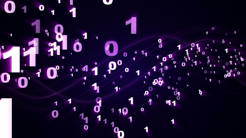 Random Numbers Animation, Mathematic, Rendering, Background, Loop, Alpha Channel, 4k  | Shutterstock HD Video #1056678155