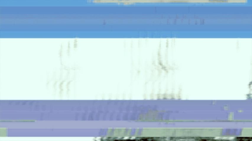 Video Wall 1005: Digital video zoom malfunction. | Shutterstock HD Video #1056834530
