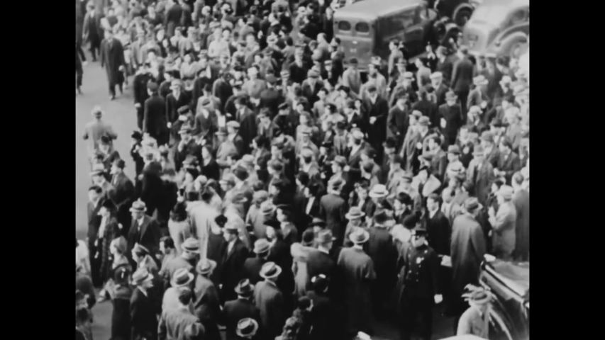 CIRCA 1945 - In this documentary directed by Frank Capra, Americans survive Prohibition and the Great Depression to feel hope in the face of war.