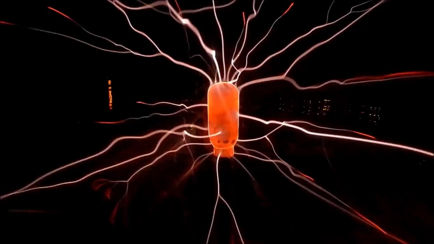 Plasma Ball. Experiments with Electricity. Flash Lightning | Shutterstock HD Video #1056937922