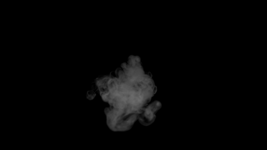 Smoke , steam, vapor , fog , Cloud - realistic smoke cloud best for using in composition, 4k, screen mode for blending, ice smoke cloud, fire smoke, ascending vapor steam over black background. | Shutterstock HD Video #1057133273