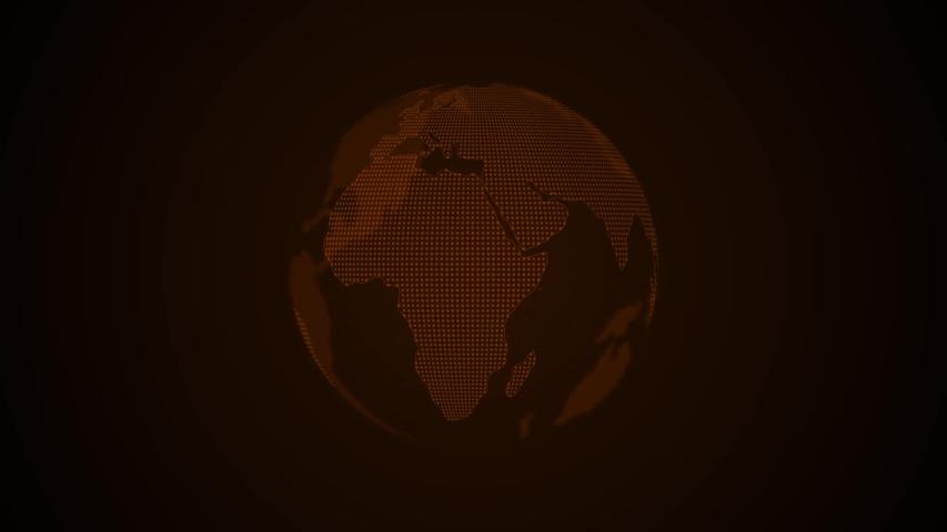 Earth Planet Futuristic Global Network   Shutterstock HD Video #1057219609