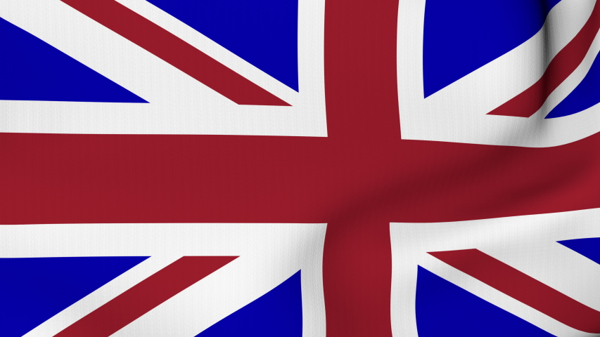 United Kingdom waving flag. UK British National closeup. 3D gradient background animation. 4K and HD resolution   | Shutterstock HD Video #1057235446