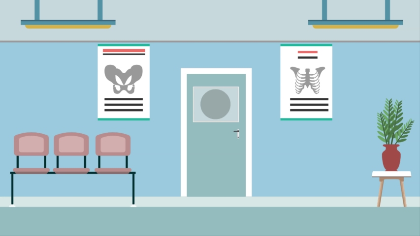 Hospital background  animation with items   Shutterstock HD Video #1057257139
