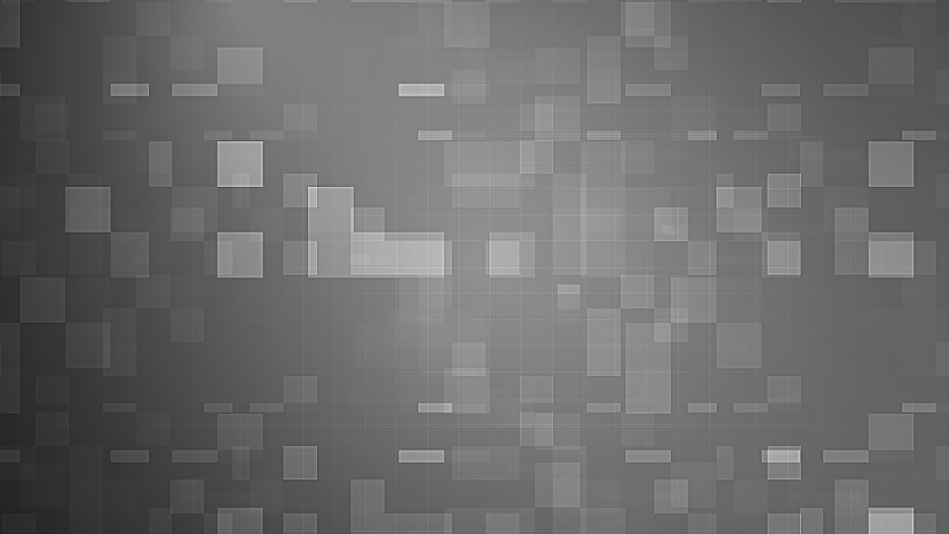 Abstract futuristic technology geometric white gray and black gradient square polygon square pattern animation. 4K 3D seamless loop block pattern mosaic motion background.  #1057318570
