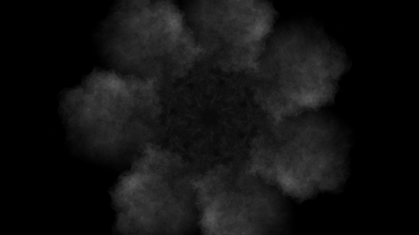 Realistic dry smoke clouds fog overlay perfect for compositing into your shots. Simply drop it in and change its blending mode to screen or add. | Shutterstock HD Video #1057326838