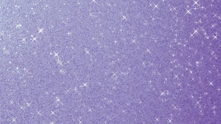Gleaming glitter star sparkling background animation