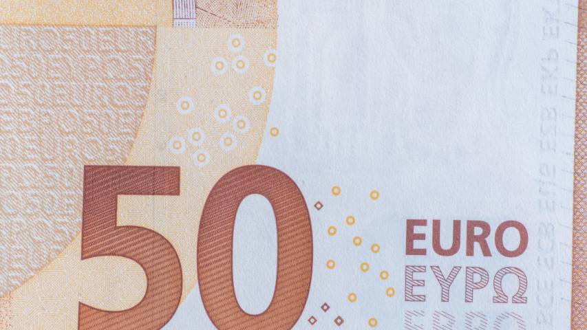 Animation of the stop movement of the euro money. Paper money cash currency. Looped Video | Shutterstock HD Video #1057335970