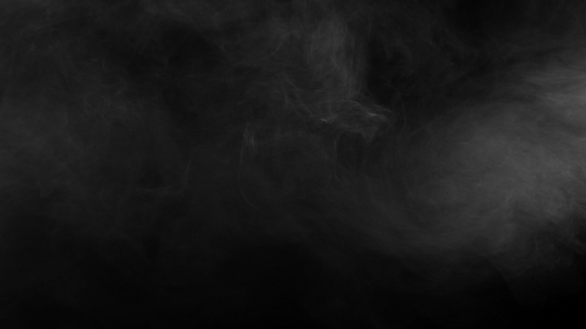 Effect of smoke floating very slowly on the screen and coming out from top right corner at the end from the Vapor collection - Smoke VFX Video Element.   Shutterstock HD Video #1057400092